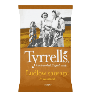 Tyrrells Sausage & Mustard