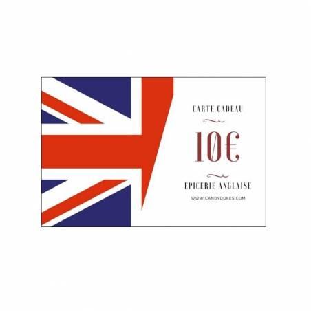 Carte Cadeau En Anglais.Carte Cadeau 10