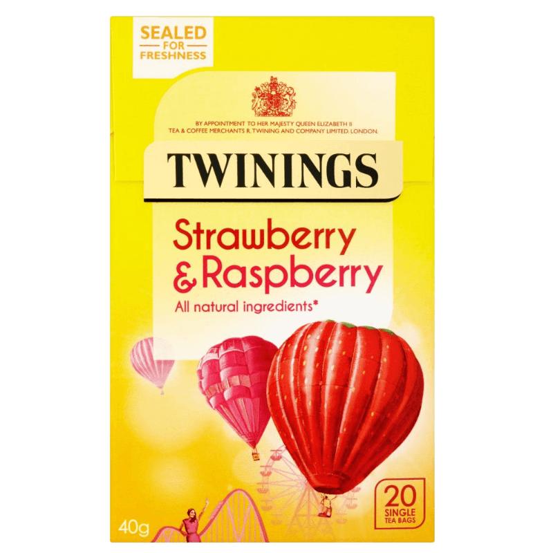 Twinings Strawberry & Raspberry