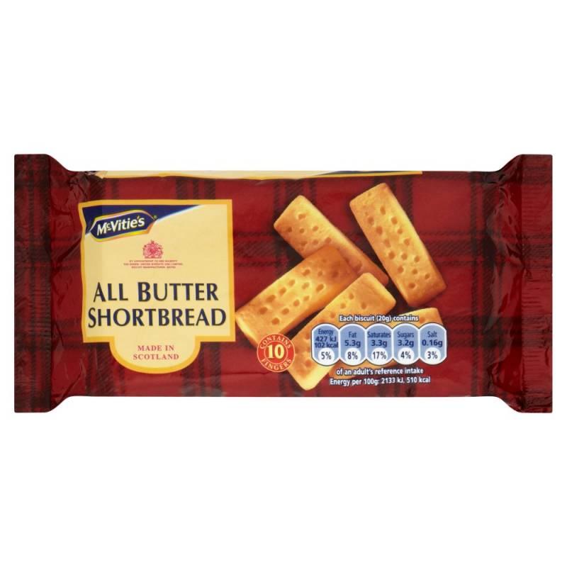 McVitie's All Butter Shortbread Fingers