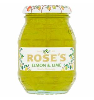 Marmelade finement coupée au citron et au citron vert Rose's