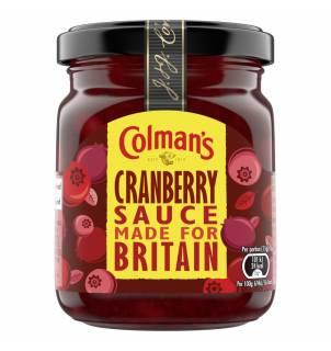 Colman's Cranberry Sauce - Sauce aux canneberges Colman's