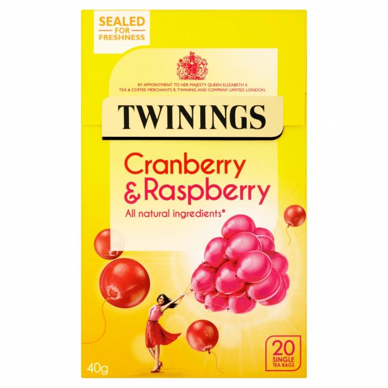 Twinings Cranberry & Raspberry