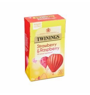Infusion fraise et framboise Twinings