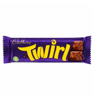 Barre chocolatée Cadbury Twirl