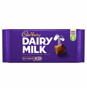 Tablette de chocolat Cadbury Dairy Milk 200g