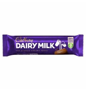 Barre chocolatée Cadbury Dairy Milk 45g