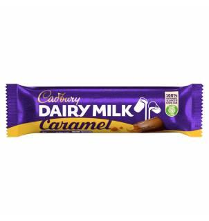 Barre chocolatée Cadbury Dairy Milk au caramel