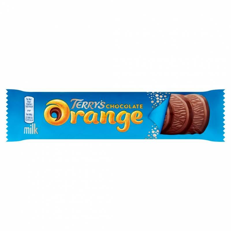 Barre chocolatée à l'orange Terry's