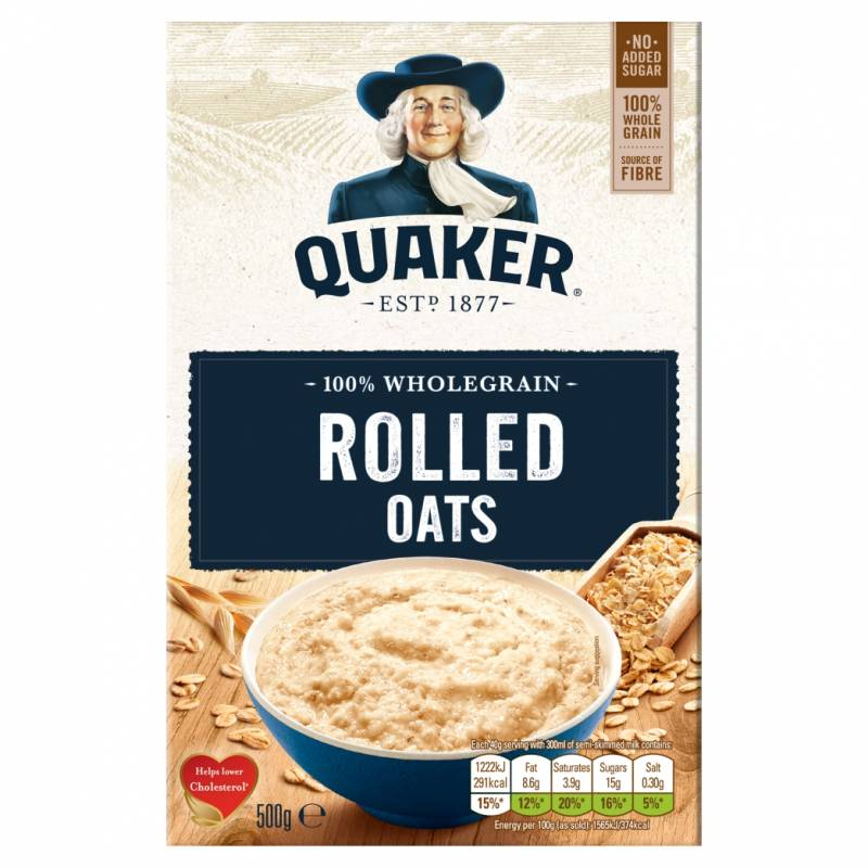 Quaker Rolled Porridge Oats 500g