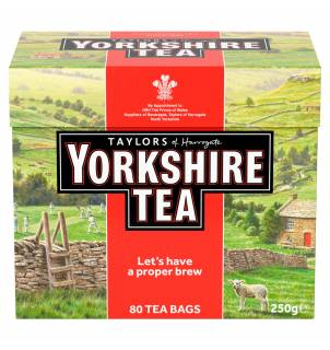 Taylor Of Harrogate Yorkshire thé noir 80 sachets