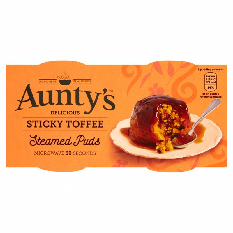Aunty's Delicious Sticky Toffee Puds