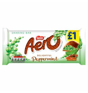 Aero Peppermint Mint Chocolate Sharing Bar