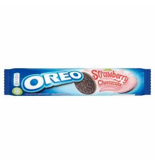 Oreo Strawberry Cheesecake Sandwich