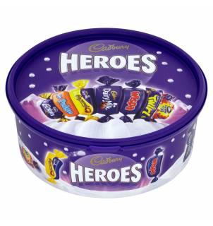 Chocolats Cadbury Heroes - Boîte de 600g