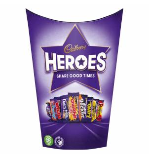 Chocolats Cadbury Heroes - Boîte de 185g